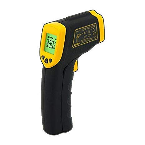 Digital Infrared Thermometer, AR330 LCD Display Professional Pyrometer No Contact Temperature Meter -32~330C-26~626F