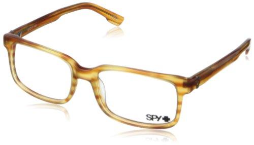 SpyMateo Rectangular Eyeglasses,Honey,52 - Sunglasses Outlet Spy