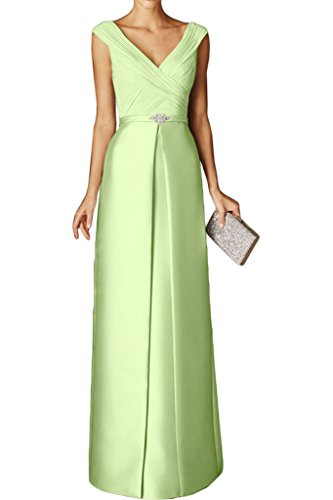 Schnitt Abendkleider Bodenlang Ausschnitt Partykleider Braut Ballkleider La Kurzarm Gruen Marie Tuerkis Schmaler Hell V zYnxPWw