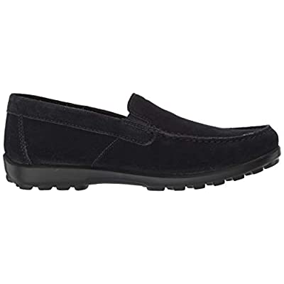 Geox Men's Romaryc 5 Suede Plain Vamp Loafer Flat   Loafers & Slip-Ons