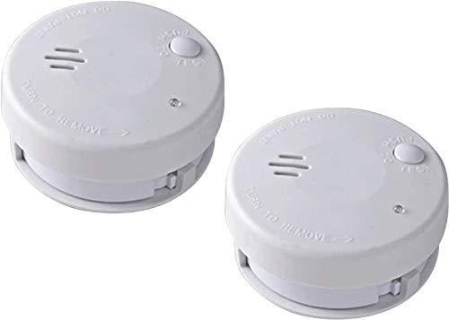 Autonomie 1 an 2 D/étecteurs de fum/ée compacts certifi/é CE EN 14604 ACTIMINI