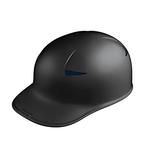 EASTON PRO X Skull Catchers & Coaches Protective Helmet Cap | Small / Medium | Matte Black | 2020 | ABS Thermoplastic Shell | Soft Dual Density Foam | BioDri Moisture Wicking Liner