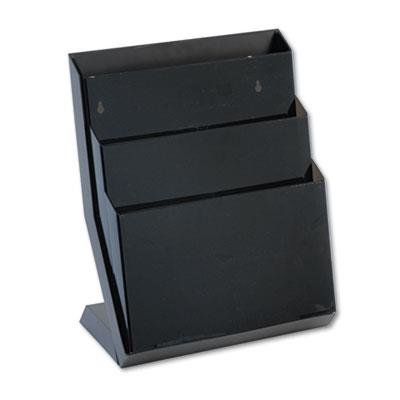 Rubbermaid 16633 Classic hot File Three-Pocket Desktop Stand, 16 high, Letter Size, -