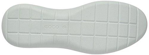 Ecco Soft 5, Baskets Basses Femme Blanc (50350White/White/Shadow White-Concrete)