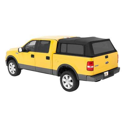 Bestop 76309-35 Black Diamond Supertop for Truck Bed Cover for 2004-2017 Ford F-150 Super Crew; 2004-2017 Nissan Titan Crew Cab (w/o utility track), 5.5' bed