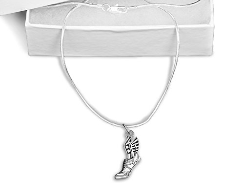 Winged Foot Necklace (Retail) (Winged Foot)