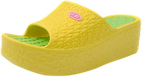 3bf7e9b53 Amazon.com  Women s Thick Soles Summer Sandals Platform Shoes Beach Swing  Shoes  Beauty