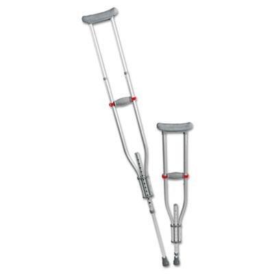 Medline MDS80540 Quick-Fit Aluminum Crutches