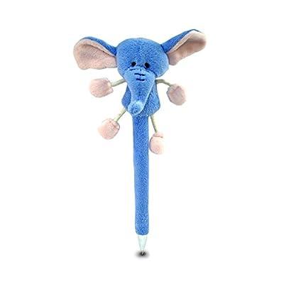 Puzzled Elephant Plush Pen: Toys & Games