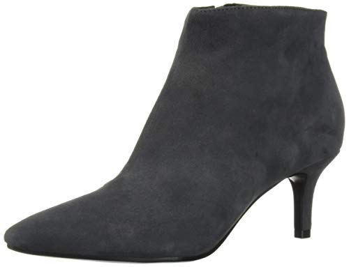 Aerosoles Women's Epigram Ankle Boot, Grey Suede, 8 M US