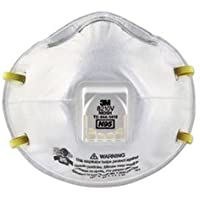 * Particulate Respirator 8210V, N95, Cool Flow Valve, 80/Carton * by COU