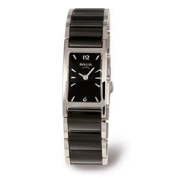 Boccia B3201-02 Ladies Titanium and Ceramic Bracelet Watch