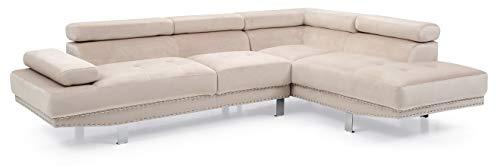 Amazon.com: Glory Furniture Derek G376-SC Sectional, Navy Blue ...
