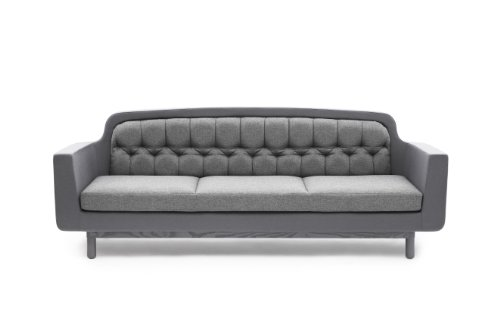 Onkel Sofa 3-Seater, Light Grey