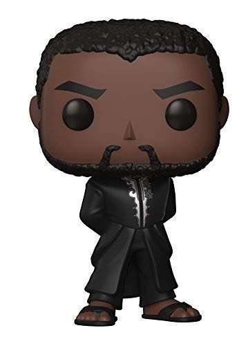 🥇 Funko Pop Marvel Black Panther Robe Collectible Figure