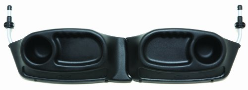 BOB Duallie Snack Tray, Black