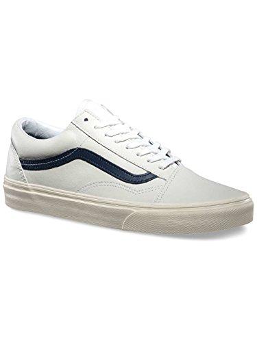 Vans Old Skool Sneakers (12M, White Dress Blue)