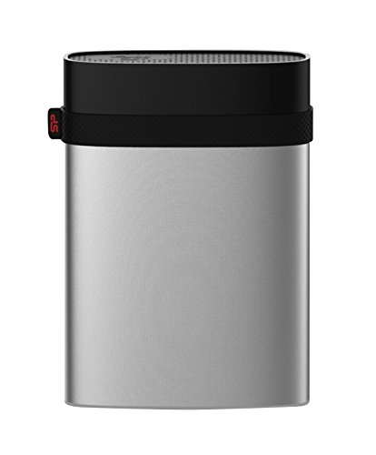 3TB Silicon Power Armor A85 Silver USB3.0 Rugged Portable Hard Drive by Silicon Power (Image #2)