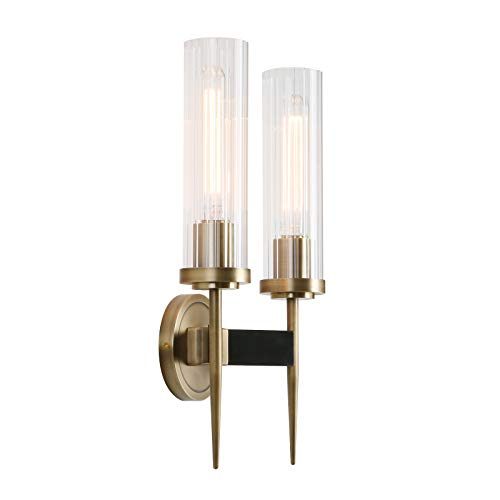 Bronze Double Arm Sconce - 3