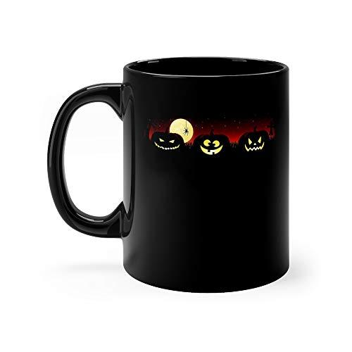 Halloween Pumpkin Tea Mugs Ceramic 11 Oz Cup