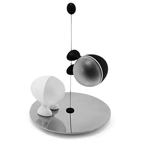 Alessi Salt and Pepper Shakers Set Lilliput. Designer Stefano Giovannoni. ()
