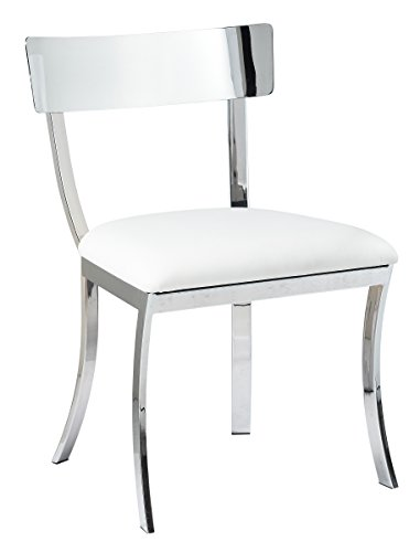 Sunpan Modern Maiden Dining Chair, White For Sale