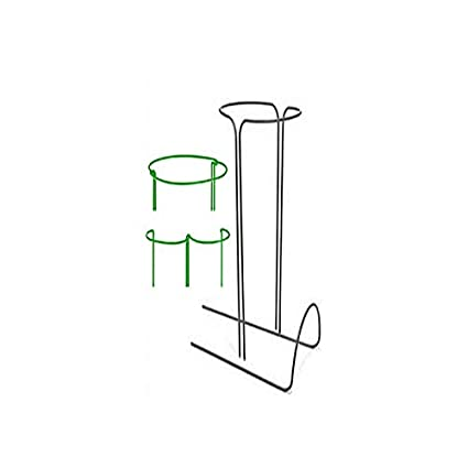 Roses ortensia Hoop sistema di supporto per piante da giardino a cerchio Strong metal Garden supporta arco per piante supporti per peonie ecc. supporto per piante