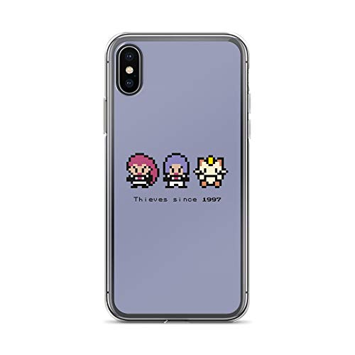 iPhone X/XS Case Anti-Scratch Gamer Video Game Transparent Cases Cover Thieves Since 1997 Gaming Computer Crystal - 1997 Crystal