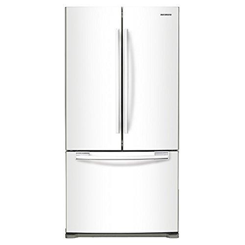 Samsung RF18HFENBWW 17.5 Cu. Ft. White Counter Depth French Door Refrigerator
