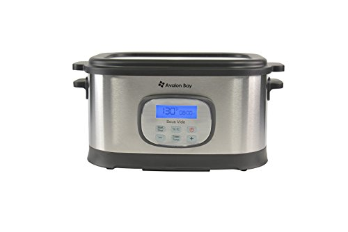 Avalon Bay Sous Vide Water Oven with Stainless Steel Rack SVC-100