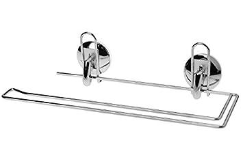 küchenrollenhalter verchromter halter für küchenrolle rollenhalter ... - Halter Für Küchenrolle