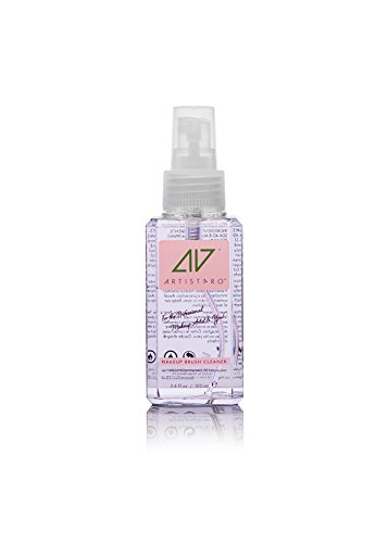 Artistpro All-In-One Professional Makeup and Hair Brush Cleaner, Makeup Remover and Hand Sanitizer (3.4 fl oz, Lilac Jakranda) by Artistpro