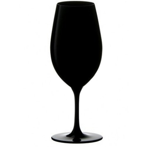 Riedel Sommeliers Series Collector's Edition Crystal Vintage Port Glass, Black (Vintage Glass Port Wine)