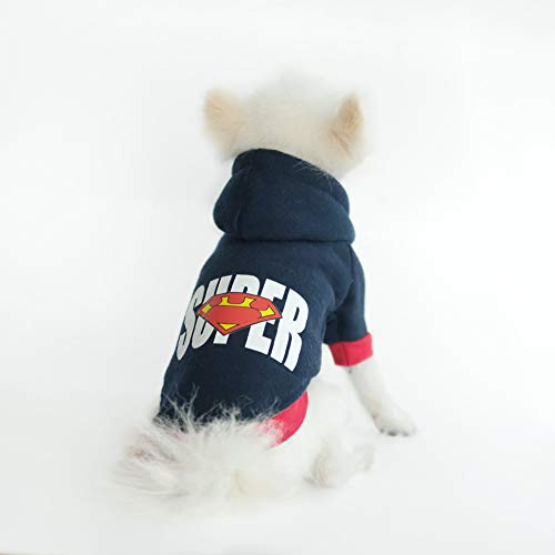 InnoPet Halloween Dog Costume Dog Clothes,Hoodie Coat for Small Dogs and Cats,Pet Warm Apparel,Puppy Cute Dog Outfits.