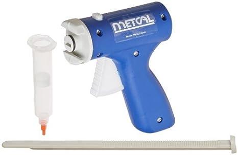 Pistola manual de la jeringuilla del polipropileno 910-MSG para el dispensador de la válvula
