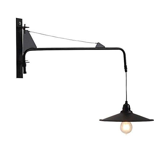 Moderne minimalistische Nachttischlampe Schlafzimmer Softcover kreative Hotel lange Stange Wandleuchte Gang Treppenhaus nordische industrielle Wandlampe