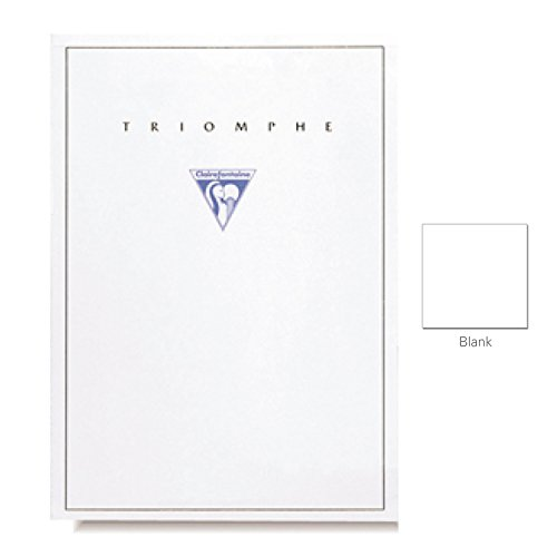 "Clairefontaine ""Triomphe"" Stationery Tablet, Blank, A4 (8.25"" x 11.75"")"