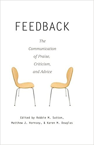 Book Feedback: The Communication of Praise, Criticism, and Advice (Language as Social Action)