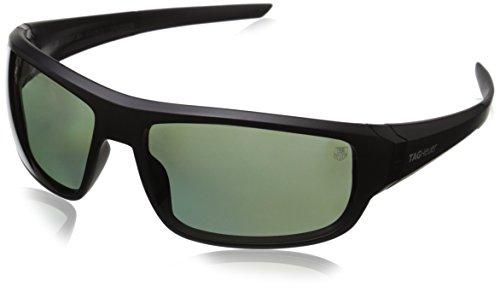 Tag Heuer Racer2 9221 304 Rectangular Sunglasses, Black, 64 - Sunglasses Heuer Mens Tag