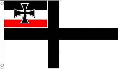 AZ FLAG Bandera de Alemania WWI DE Guerra SIN Armas 150x90cm - Bandera Alemana SIN Escudo 90 x 150 cm: Amazon.es: Hogar