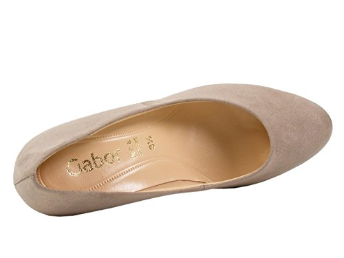 Gabor Women's Fashion Closed Toe Heels Beige Bsy4SYR