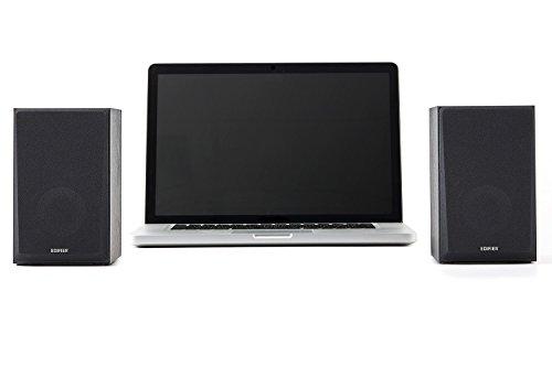 Edifier R980T 4'' Active Bookshelf Speakers - 2.0 Computer Speaker - Powered Studio Monitor (Pair) by Edifier (Image #1)