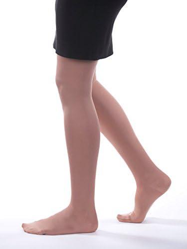 Black Tall Allegro 15-20mmHg Soft 271 Microfiber Pantyhose