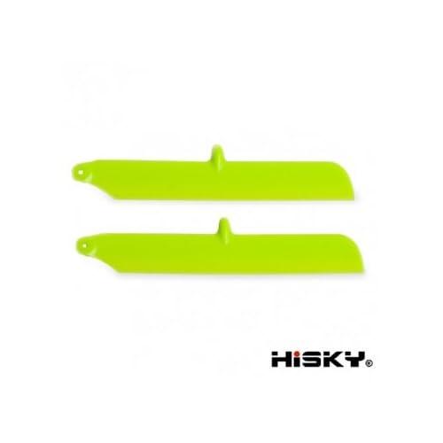 Haute Qualité HiSKY HCP80 FBL80 V933 RC Helicopter Pièces de rechange vert principal Hélice