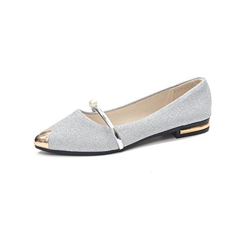 zapatos y afilada cabeza hembra plana solo five Donyyyy Fondo zapatos plano trabajo Thirty de superficialmente 8nZT0q