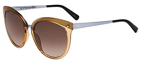 b0f86b22b5 Christian Dior Frozen 1 S Sunglasses Transparent Orange   Lilac ...