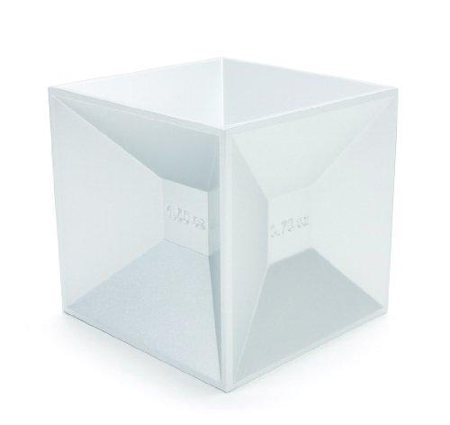 Kikkerland Measuring Jigger Cube by Kikkerland