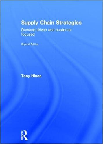 Download Supply Chain Strategies: Demand Driven and Customer Focused PDF, azw (Kindle), ePub, doc, mobi