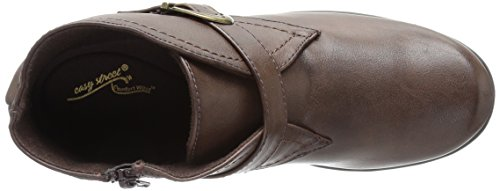 Easy Street Women's Banks Ankle Bootie Brown OsP21h8d