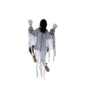 "Totally Ghoul Halloween 60"" Climbing Dead Figure - White"